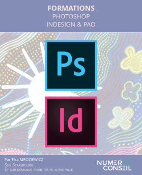 formation indesign photoshop avec NUMERED