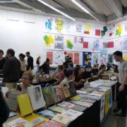 Salon Mise en pli : salon de la microédition à Marseille au Frac Paca Photo Crédit FRAC PACA