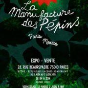 Expo-vente à la galerie Beaurepaire à Paris avec la manufacture des pépins.